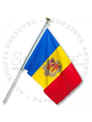 Bandera Andorra  130-AD