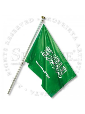 Bandiera Arabia Saudita 130-SA
