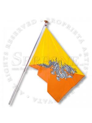 Bandiera Bhutan 130-BT