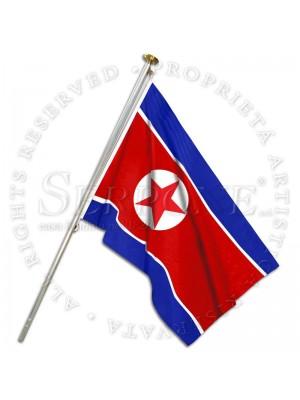 Bandiera Corea del Nord 130-KP