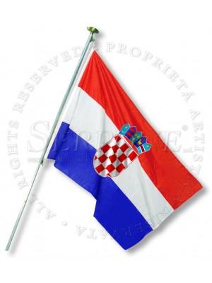 Bandera Croacia 130-HR