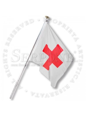 Bandiera della Croce Rossa per 130-CRI