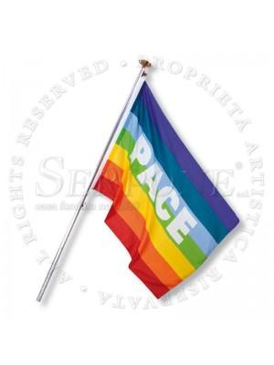 Bandiera della Pace in poliest 133pl