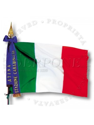 Bandiera di Presidio per coman 125