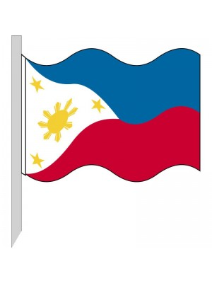 Bandiera Filippine 130-PH