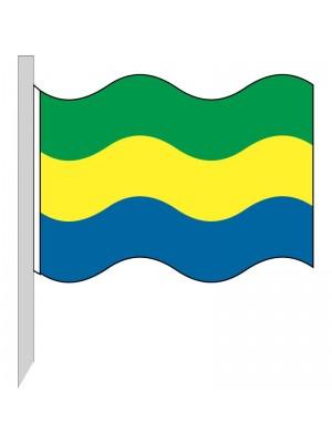 Bandera Gabón 130-GA