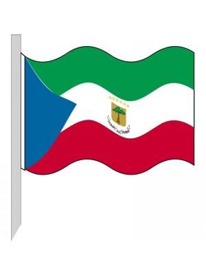 Bandera Guinea Ecuatorial 130-GQ