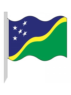 Bandera Islas Salomón 130-SB