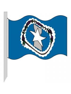 Bandera Islas Marianas del Norte 130-MP