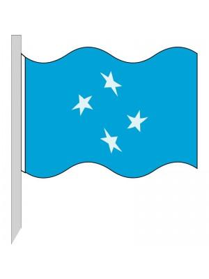 Bandera Micronesia 130-FM