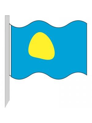 Bandera Palaos 130-PW