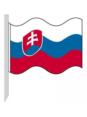 Bandera Eslovaquia 130-SK