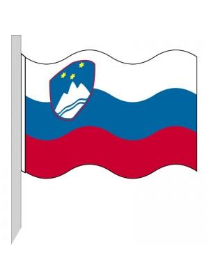 Bandera Eslovenia 130-SI