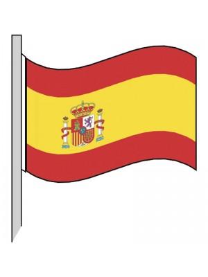 Bandera España (con emblema) 130-ES