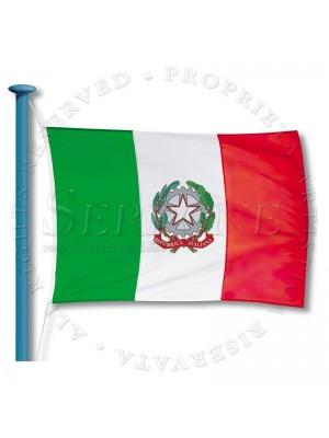 Bandiera Tricolore con emblema 117