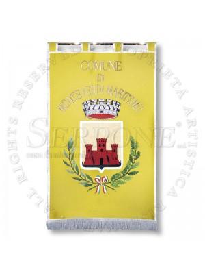 Gonfalone senza ornati, letter 222/c